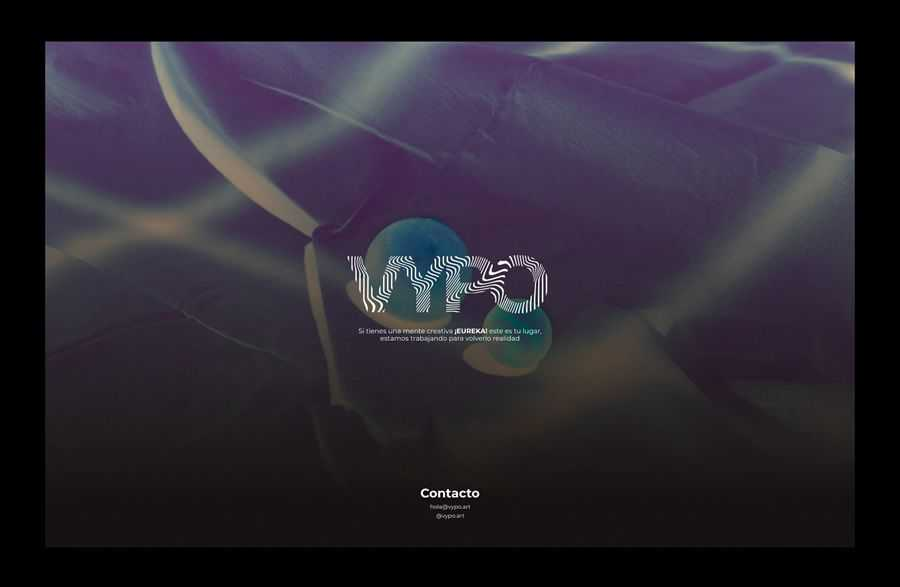 Coming to VYPO's quick web page inspired by the design