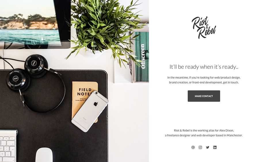 Riot Rebel Minimal Holding is coming soon to inspire the web scheme