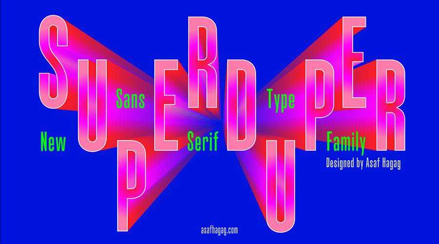 SuperDuper Free Sans-Serif quirky creative font family typeface