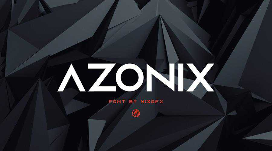 Azonix Free Modern quirky creative font family typeface