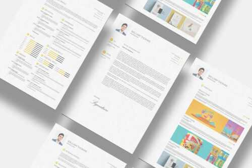 Examples from 10 Free InDesign Templates for Creating a Professional Continuity