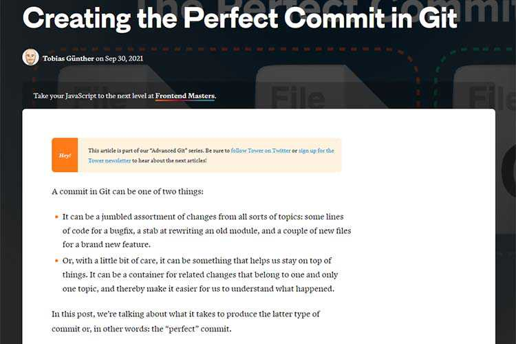Example from Making Full Commitment to Git